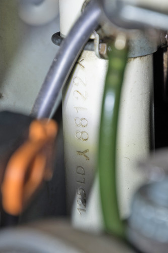1954 Innocenti Lambretta 125 LD Avviamento Elettrico 14