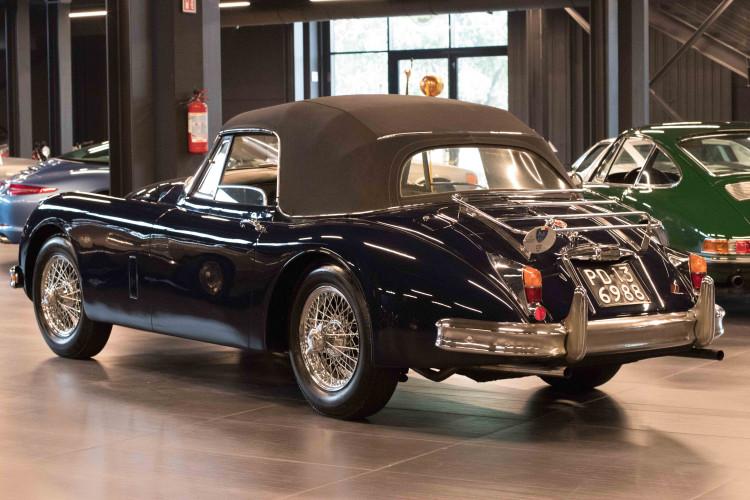 1961 Jaguar XK150 DHC 22