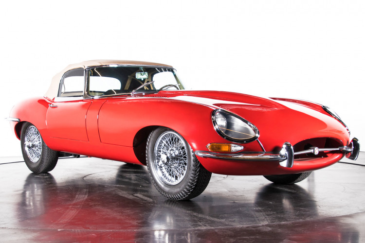 1962 Jaguar E-Type 3.8 Convertible 1° Serie 6