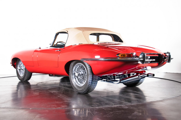 1962 Jaguar E-Type 3.8 Convertible 1° Serie 2