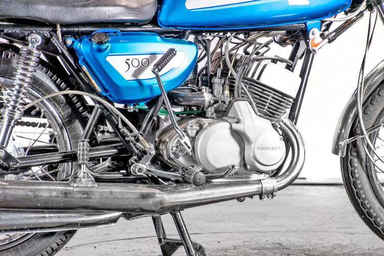 1971 Kawasaki 500 Mach III 4