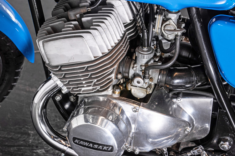 1972 Kawasaki H2 11