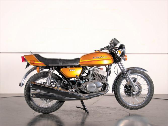 1972 Kawasaki H2 750 5