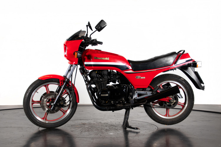 1983 Kawasaki KZ 550 6