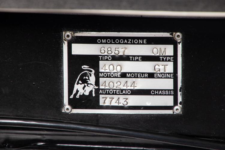 1970 Lamborghini Espada 400 GT 39