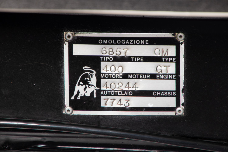 1970 Lamborghini Espada II° Serie 39