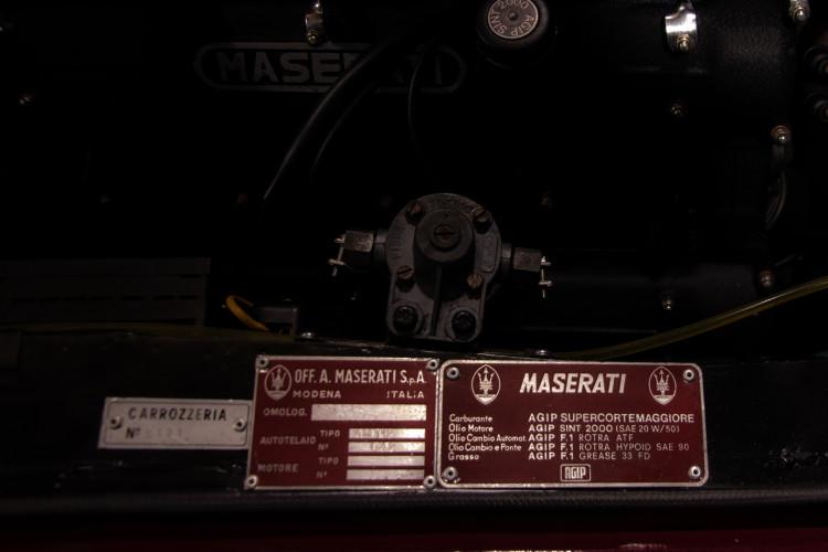 1972 MASERATI MEXICO 4.2 20
