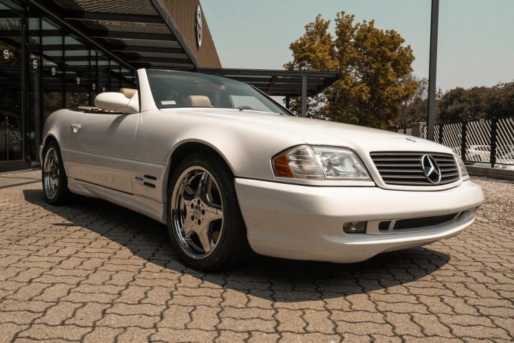 2000 Mercedes-Benz SL500 6