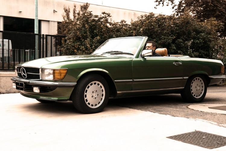 1986 Mercedes-Benz SL 300 8
