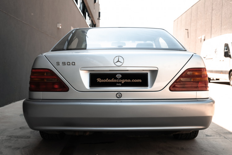 1995 Mercedes-Benz S500 Coupé 6