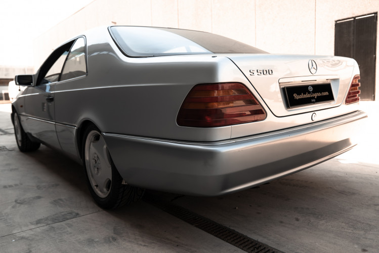 1995 Mercedes-Benz S500 Coupé 7