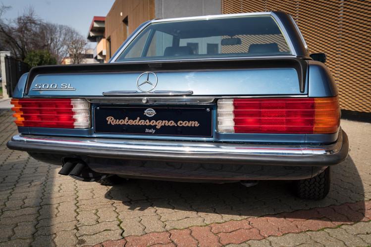 1979 Mercedes-Benz SL 500 5