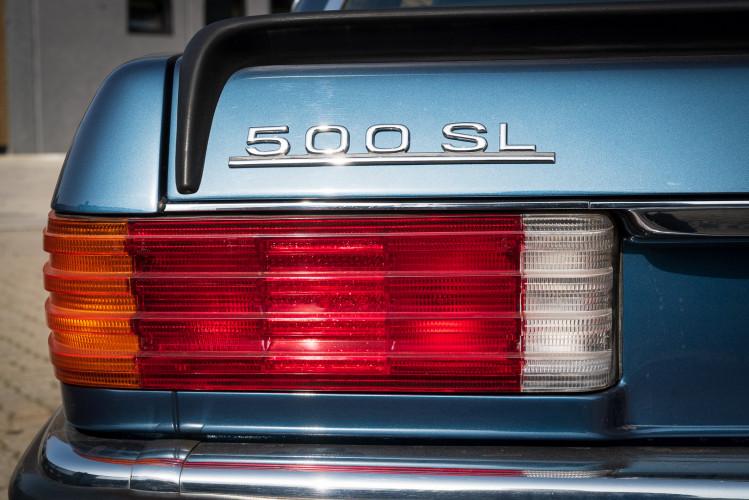 1979 Mercedes-Benz SL 500 14