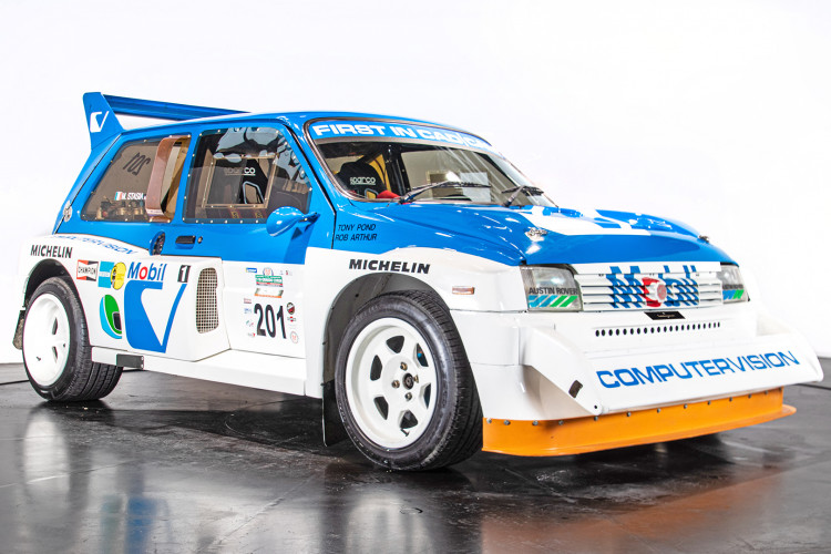 "1985 MG Metro 6R4 ""Gruppo B"" 2"