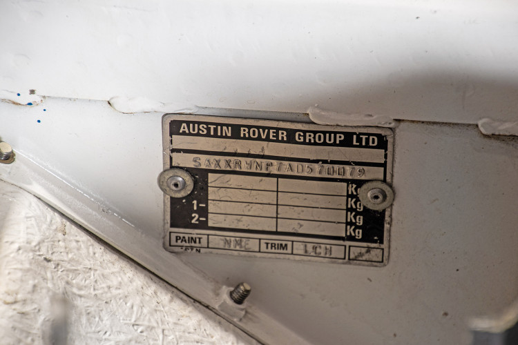 "1985 MG Metro 6R4 ""Gruppo B"" 42"