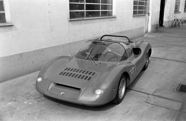 1968 Abarth 1000 SP sport prototipo 45