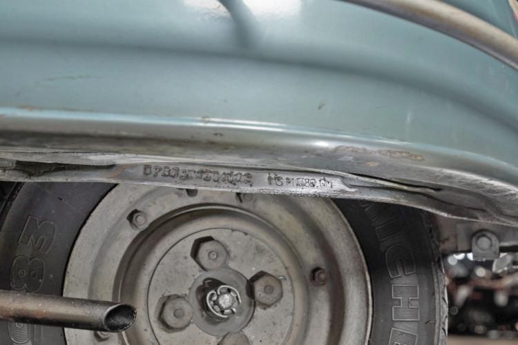 1961 Piaggio Vespa 150 vbb 14