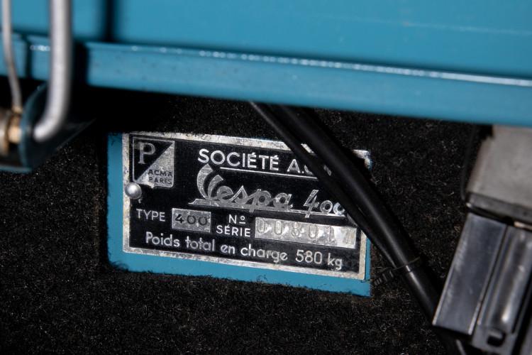1958 PIAGGIO ACMA 400 28