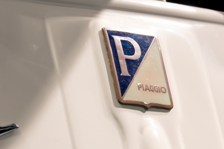 1956 PIAGGIO VESPA 150 SIDECAR VL3 23