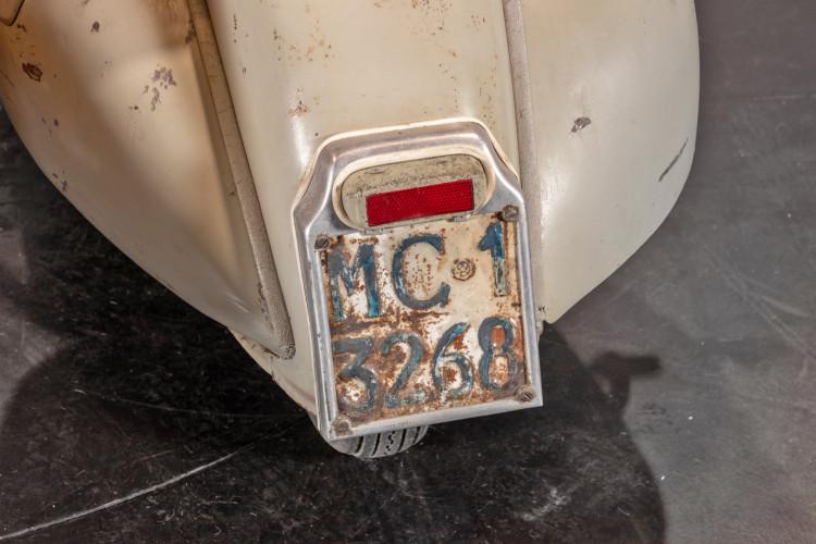 1953 Piaggio Vespa Sidecar faro basso 6