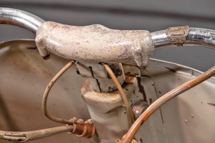 1953 Piaggio Vespa Sidecar faro basso 16