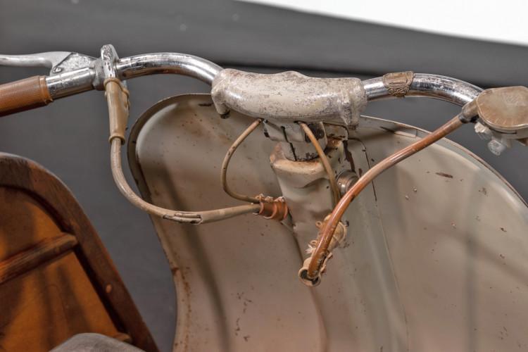 1953 Piaggio Vespa Sidecar faro basso 14