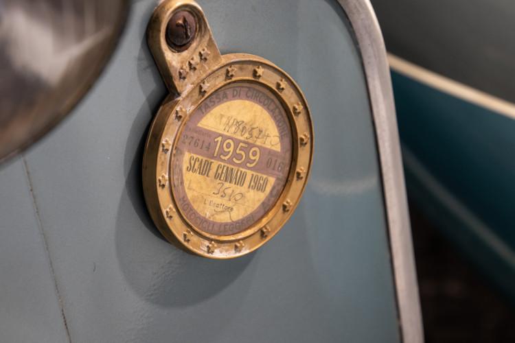 1960 Piaggio Vespa Sidecar vba 16