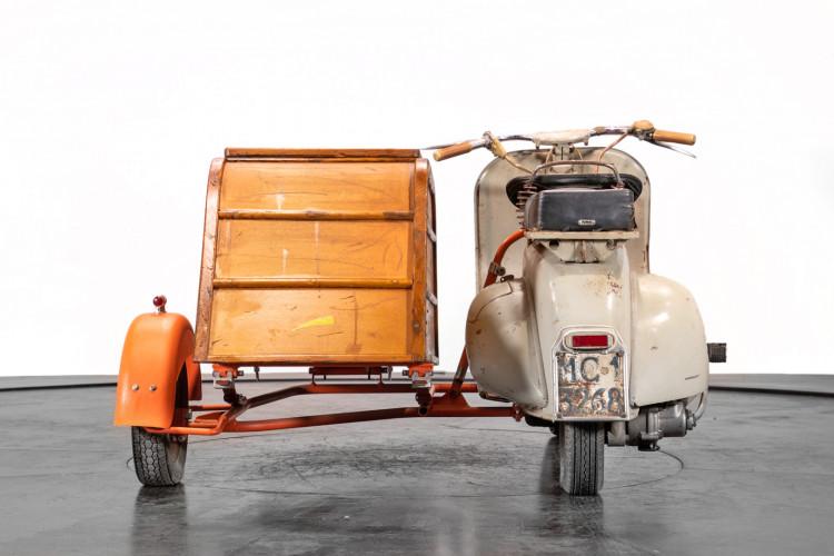 1953 Piaggio Vespa Sidecar faro basso 5