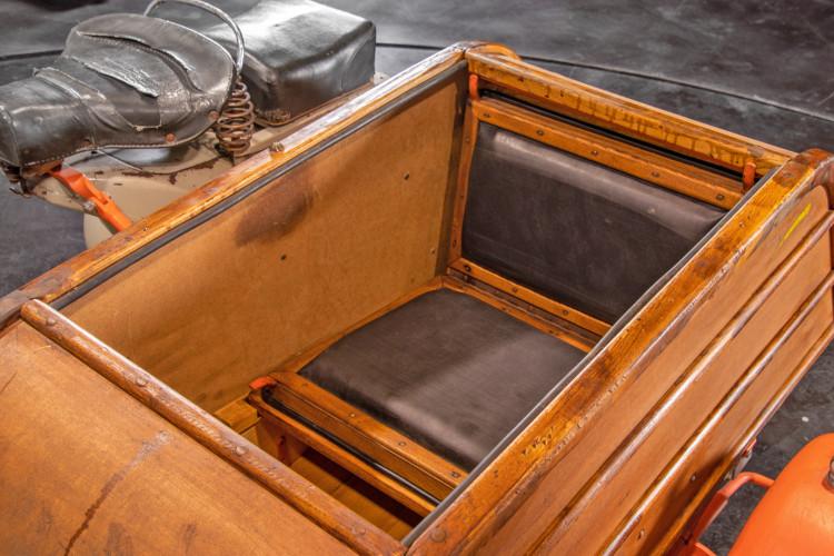 1953 Piaggio Vespa Sidecar faro basso 19