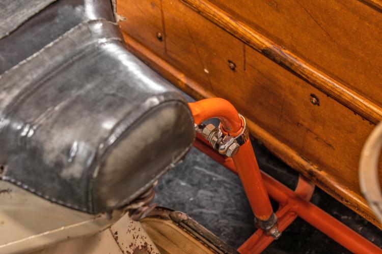 1953 Piaggio Vespa Sidecar faro basso 21