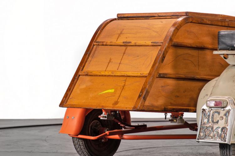 1953 Piaggio Vespa Sidecar faro basso 9