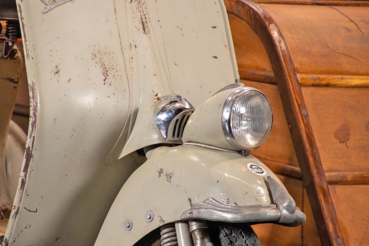 1953 Piaggio Vespa Sidecar faro basso 7