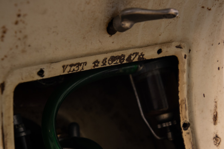 1956 Piaggio Vespa VL3 Struzzo 16