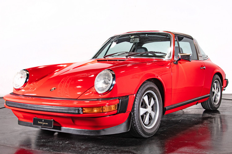 1974 Porsche 911 S 2.7 Targa 0