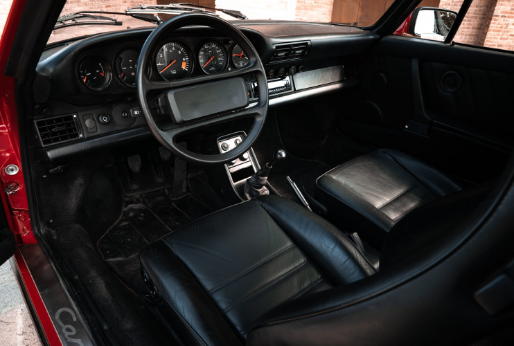 1988 Porsche 911 Carrera 3.2 Cabrio G50 25