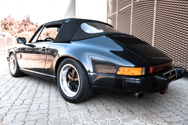 1986 Porsche 911 Carrera 3.2 Cabrio 8