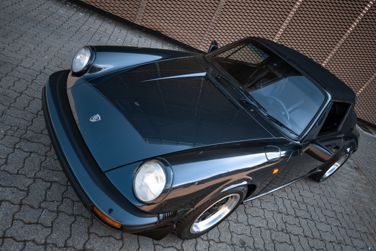 1986 Porsche 911 Carrera 3.2 Cabrio 7