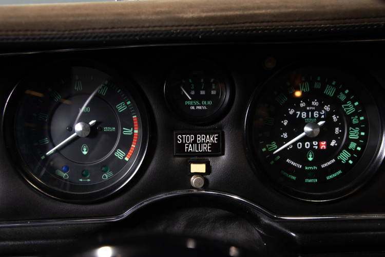 1981 MASERATI MERAK 3000 SS 23