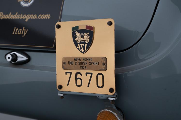 1954 Alfa Romeo 1900 C Super Sprint 15