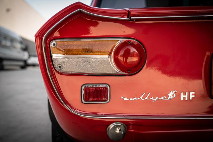 1970 Lancia Fulvia HF 1600 Fanalone 6
