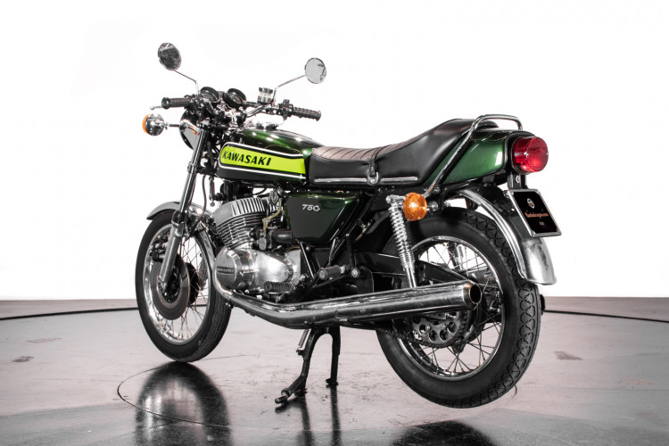 1974 Kawasaki Mach IV 750 1