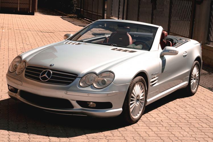2002 Mercedes Benz SL55 AMG 0