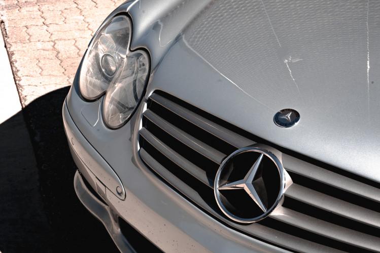 2002 Mercedes Benz SL55 AMG 10