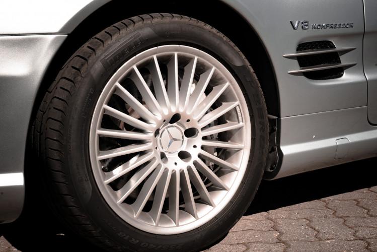 2002 Mercedes Benz SL55 AMG 11