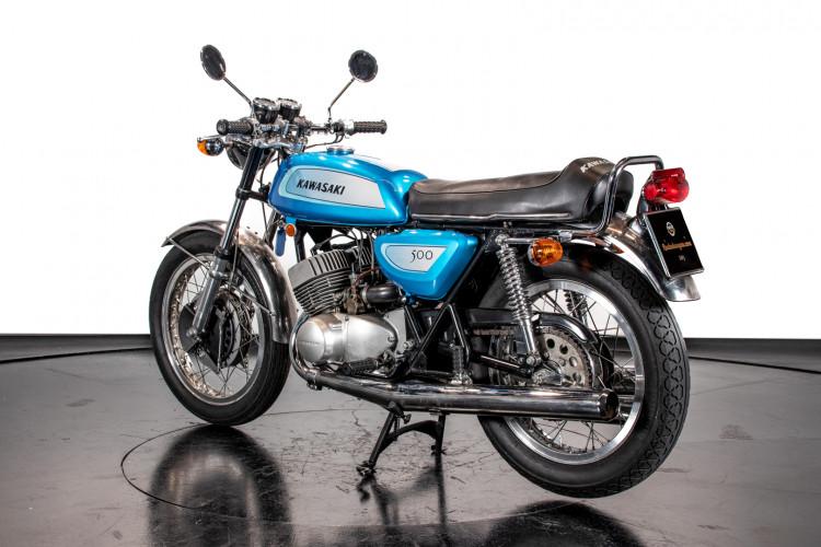 1971 Kawasaki Mach III H1 500 4