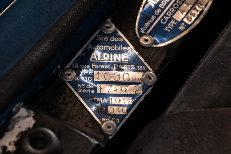 "1972 Alpine-Renault A110 1600 S ""VB"" 42"
