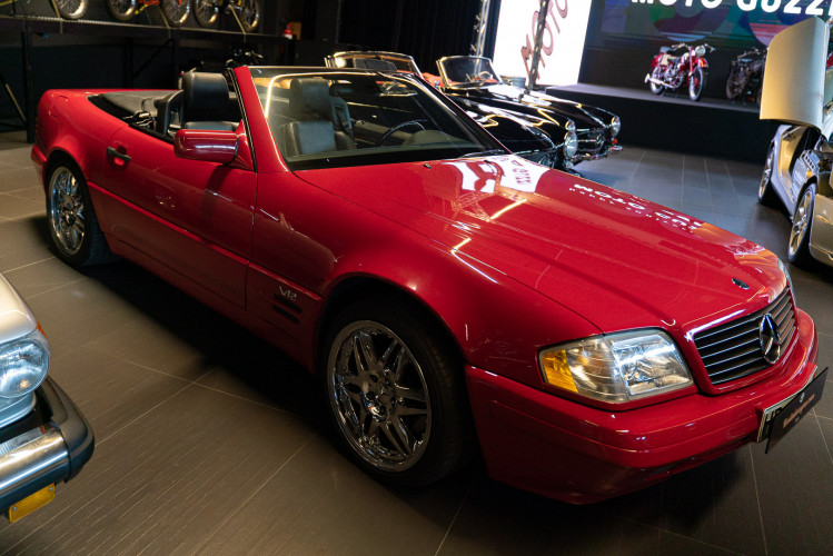 1998 Mercedes Benz 600 SL 47