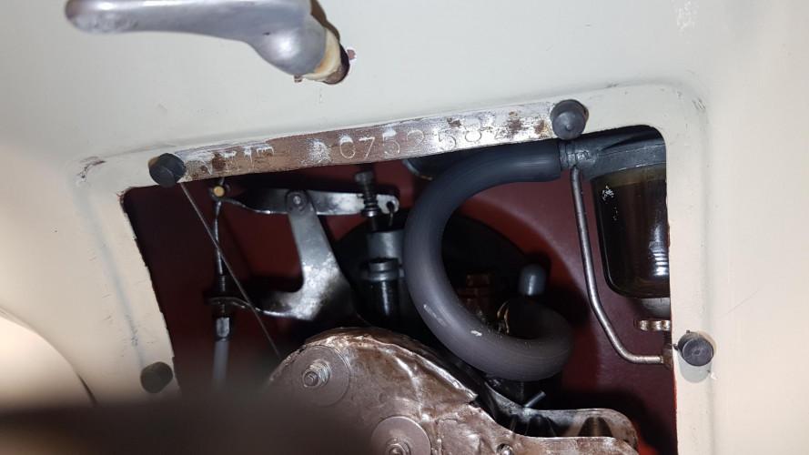 1953 Piaggio Vespa 125  17