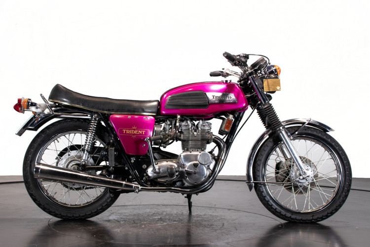 1974 TRIUMPH T 150 T TRIDENT 0