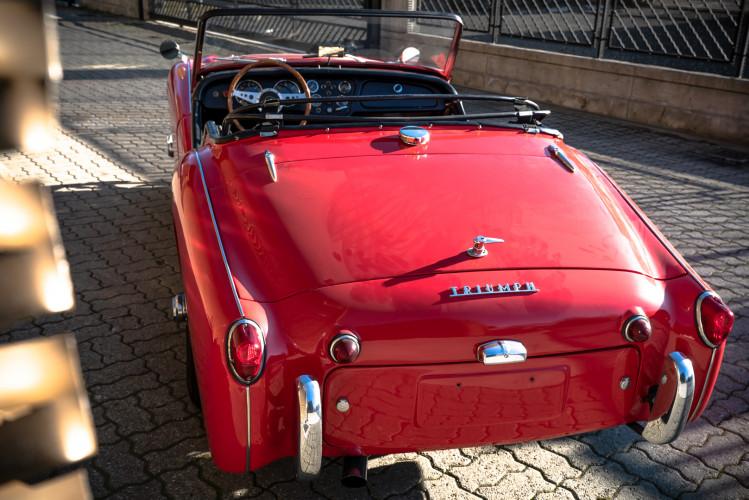 """1958 Triumph TR3A """"Small Mouth"""" 11"""